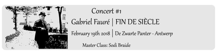 Title - Concert Faure