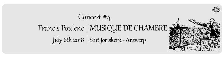 Title - Concert Poulenc